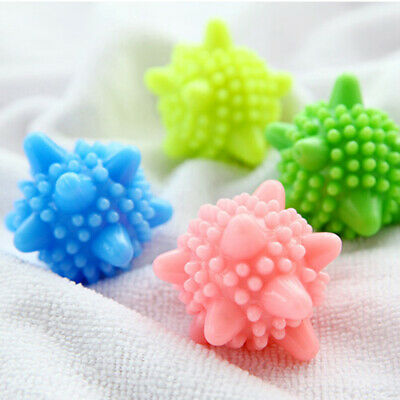 1-10pcs Reusable Tumble Washing Laundry Dryer Balls Clothes Fabric Softener lot