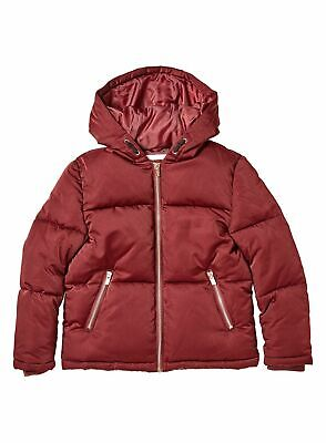 Outfit Girls Cranberry Red Padded Coat - Size: 6 Years