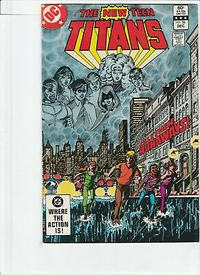New Teen Titans # 26 !!1! 1982 1St Appearance Of Terra !! George Perez !!
