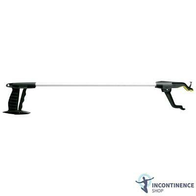 """Deluxe Handy Reacher/Grabber - 32"""" - Rotating Head - Mobility Aid"""