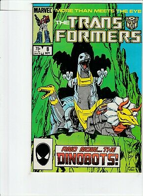 Transformers # 8 !! 1985 1St Ever Appearance Of The Dinobots !! .99 Auctions