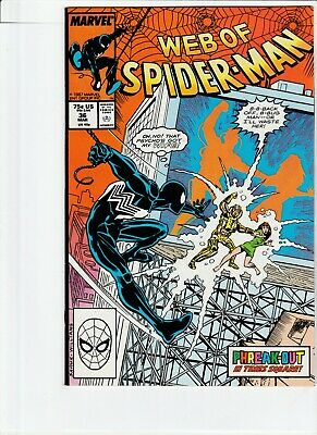 Web Of Spiderman # 36 !!2! 1988 1St Appearance Of Tombstone !! Hot .99 Auctions