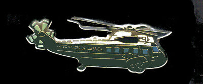 Presidential helicopter marine 1 lapel pin airline pin