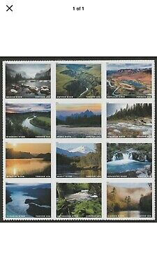 Scott#5381 Wild and Scenic Rivers -12 stamps MNH 2019