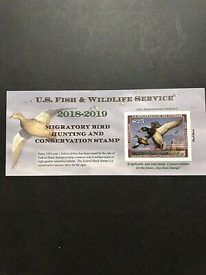 Scott##RW85A-2018 - 2019 - US Federal Duck Stamp - Post Office FRESH MNH