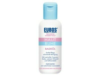 Eubos Kinder, Bath oil for children and babies, 125ml