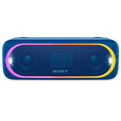 Sony SRS-XB30 Wireless Portable Bluetooth Speaker With Charger - Blue