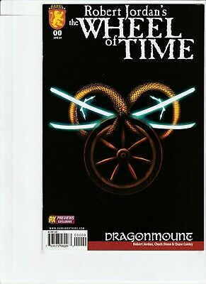 Wheel Of Time # 0 Previews Exclusive Variant !!3! 2009 Just Optioned! New Spring