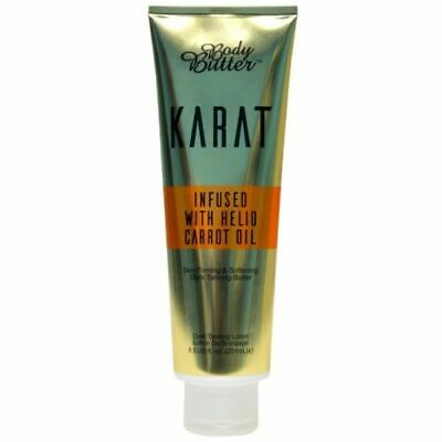 KARAT BODY BUTTER SUNBED TANNING  ACCELETAROR LOTION CREAM with CARROT OIL +GIFT