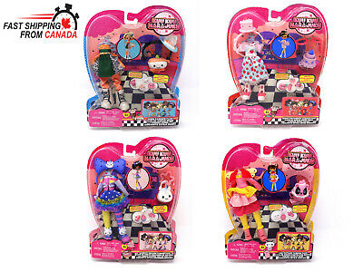 Kuu Kuu Harajuku Set of 4 Fashion Pack Sets Brand New Lot by Mattel Dolls