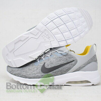 NIKE AIR MAX Motion Racer Men's Running Shoes Gray Solar Red