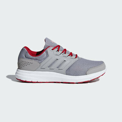 Adidas galaxy 4 m Mens Running Shoes Grey/Red B75575 Size 9.5-12 Boost