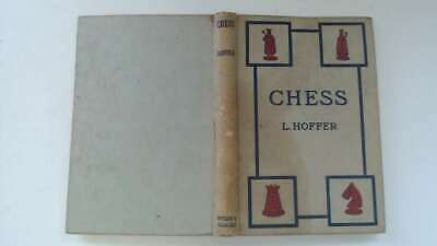 Acceptable - Chess - Hoffer , L. 1954-01-01 The hinges are in good condition. Th