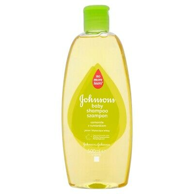 J & J, Johnson's Baby, Shampoo for children, camomile, 500 ml