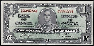 1937 $1 Bank Of Canada Crisp Note!!! Coyne & Towers!!!