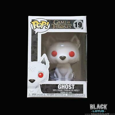 Funko Pop! Ghost Direwolf Stark (Jon Snow) Game of Thrones Pop IN STOCK 19