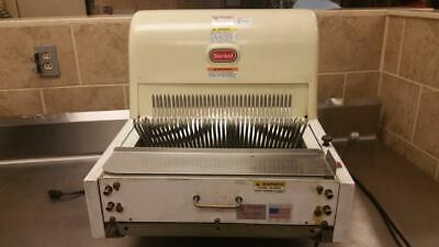 """Berkel Bread Slicer 7/16"""" Slicer Great for large loaves of Bread & French Bread"""