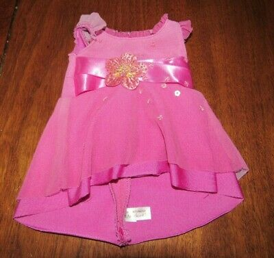 American Girl Doll Ice Skating Outfit Magenta Skate Performance Dress Only