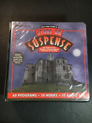 Old Time Radio's Stars On Suspense Cd Set (28 Of 30, 2 Are Missing) Rare
