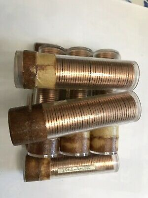 10 Rolls Of 1968-S Unsearched Uncirculated Lincoln Memorial Cents