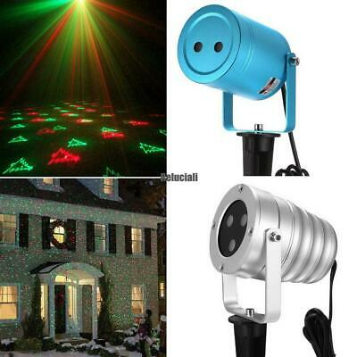 Laser Christmas Projector Light Outdoor Waterproof Rotating Projection RCAI 01