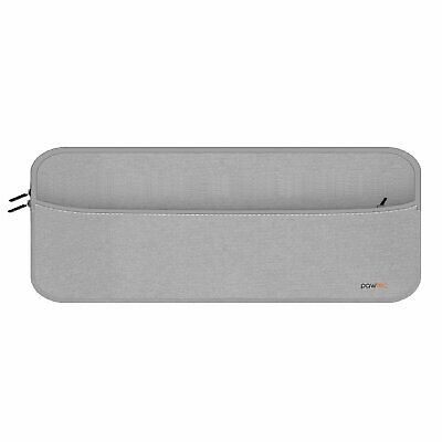 Pawtec Neoprene Sleeve for Full Size Apple Magic Keyboard Mouse Trackpad Silver