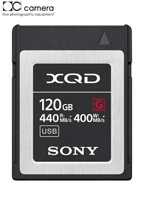 Brand New Sony Professional XQD G-Series 120GB Memory Card QD-G120F  #27982