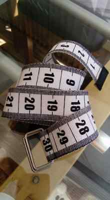 "Boys Belt Black White Inches Canvas fits up to maximum 28"" waist"