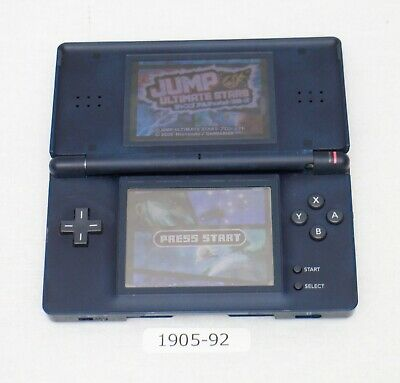 [ Nintendo DS Lite console Navy Blue Read for repair Japan 1905-92