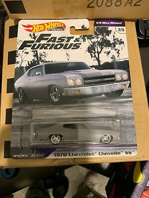 2019 Hot Wheels Fast And Furious-1/4 Mile Muscle 1970 Chevrolet Chevelle Ss-Vhtf