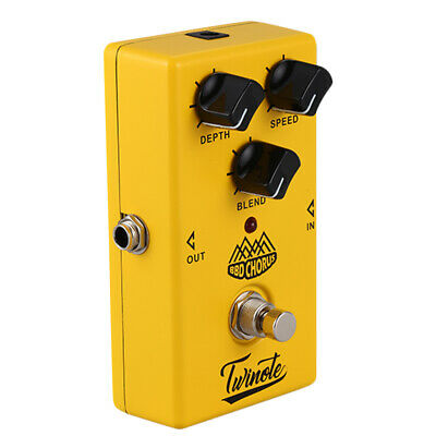 5X(Twinote BBD Chorus Guitar Effect Pedal Analog Chorus Effects Pedal soundY9F7)