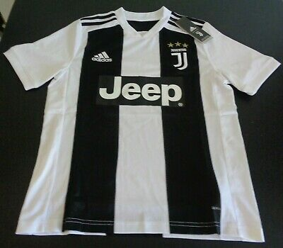 d38688a3e JUVENTUS Soccer ADIDAS Youth LARGE Jersey 2018 Climalite NEW Futbol FREE  SHIP