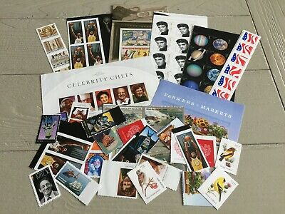 US STAMPS Lot of (100) Various Forever Stamps FV $55.00 MINT -12