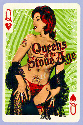 Queens of the Stone Age 2008 Concert Poster