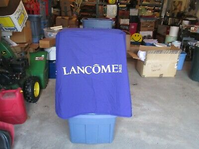Lancome Paris Advertising Table Cloth Cover Store Display about 30 diameter