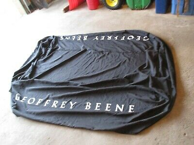 Geoffrey Beene Advertising Table Cloth Cover Store Display about 72 x 28 x 28 ?