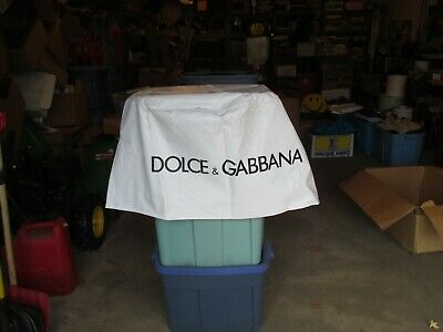Dolice & Gabhana Advertising Table Cloth Cover Store Display about 30 diameter