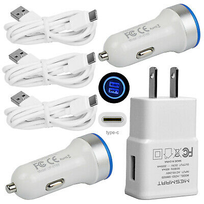 OEM FAST RAPID Wall Charger + USB Type-C Cable LG V40/V30