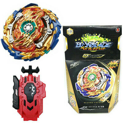 Beyblade Burst GT B-139 starter Wizard Fafnir Rt Rs With Launcher + Box Toy Gift