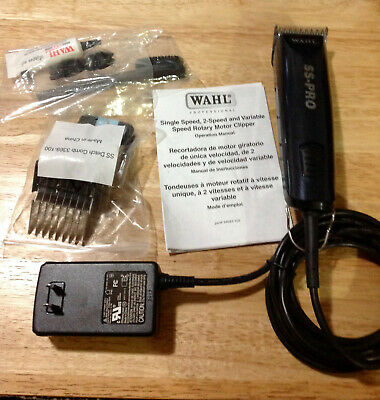 Genuine Wahl Professional SS-PRO Clipper Kit Model # 9777 **FAST FREE SHIPPING**