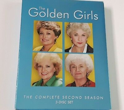 The Golden Girls The Complete Second Season 2 Two 3 Disc DVD Set 2005