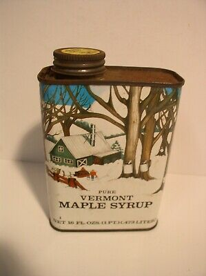 Vermont Maple Syrup Tap Spout W/ Vintage Labels New St Albans Vermont Sugarmaker Decorative Arts Pancakes & Syrup