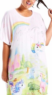Ladies Peter Alexander Nightie My Little Pony Size Medium To Large I Want A Pony