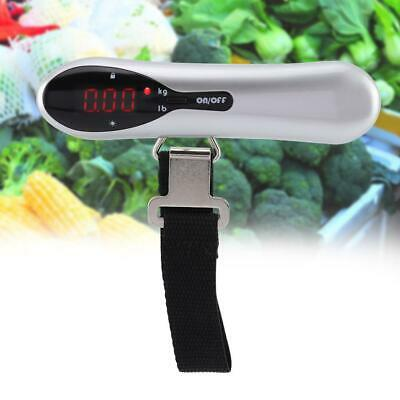 Portable Mini Travel Tare 50kg 10g Hanging Digital Suitcase Luggage Weight Scale