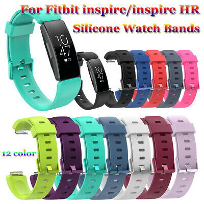 Silicone Watch Band Strap Bracelet Wristbands For Fitbit Inspire / Inspire HR