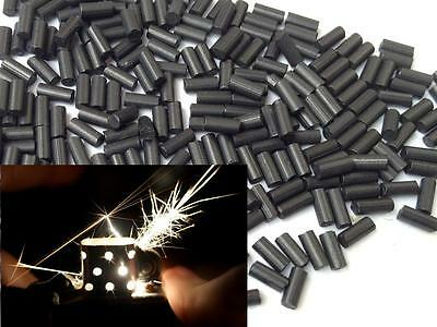50 x Lighter Flints Black Quality Universal Clippers Flints Petrol Lighters UK
