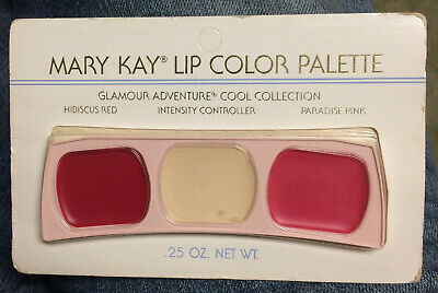 Mary Kay Lip Color Palette Hibiscus Red/Paradise Pink Glamour Adventure #0503
