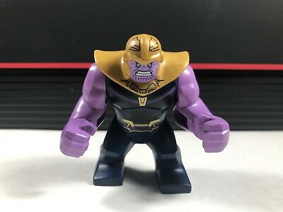 NEW LEGO Thanos Minifigure and Infinity Gauntlet 4 Time Stones 76107 Authentic