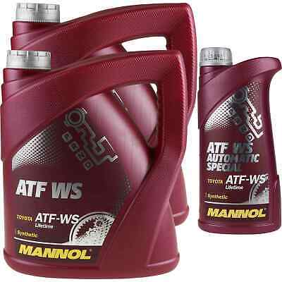 9 Liter MANNOL ATF WS Automatic Special Automatikgetriebeöl Oil 11192140