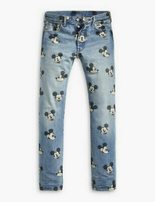 192dca72 Levi's Disney Mickey Mouse 501 Original Fit Jeans Limited Edition 00501-2708